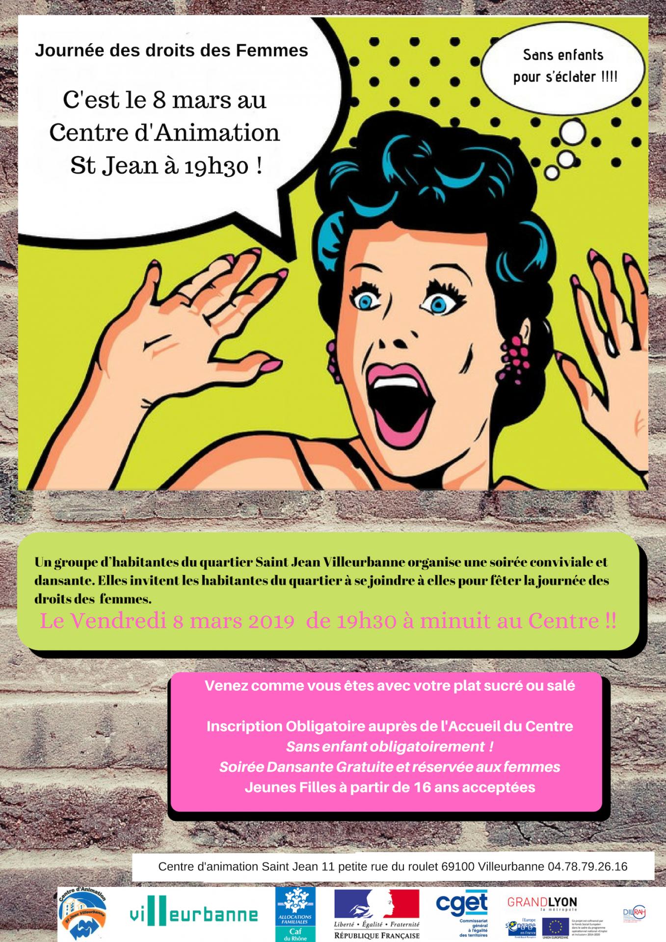 Affiche journee de la femme 2019 1