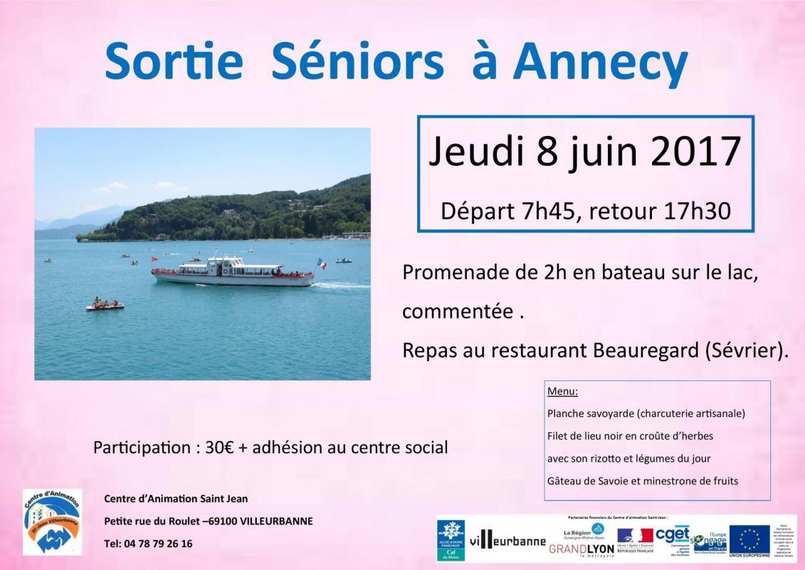 Sortie à Annecy Séniors