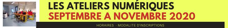 Les ateliers numeriques