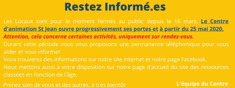 info centre actualise