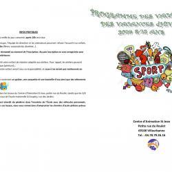 Programme 8 - 12 ans