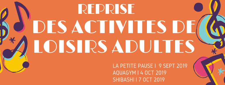 Reprise activite